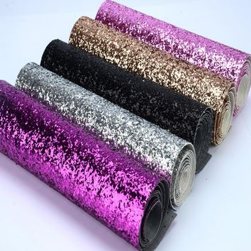 25*138cm eco-friendly chunky glitter fabric colorful glitter border use for cushions,pelmets,pillow decoration,glitter wallpaper