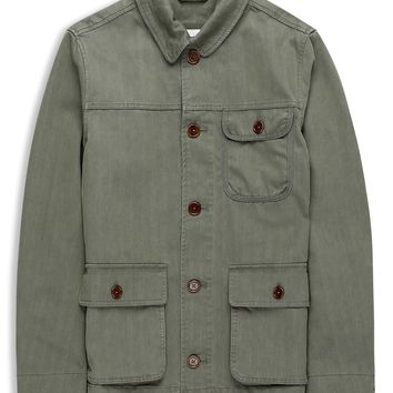 Plectrum Herringbone Workwear Blouson | Outerwear | Ben Sherman