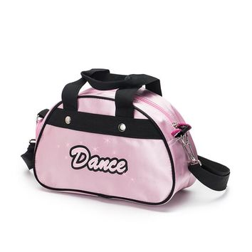 Sports gym bag Sansha 2017 New Small PU Ballet Dance Bag With Shoulder Straps Gym  KBAG4 KO_5_1