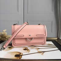 Kuyou Gb69729 Pinko Women¡¯s Mini Love Bag In Caviar Leather With Inlays Pink Should Bag Picture Size 27-18-8cm