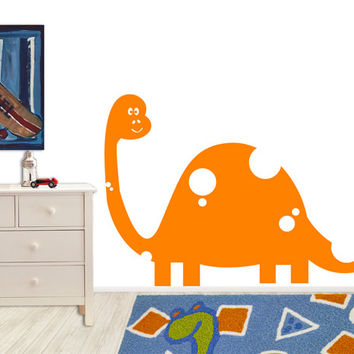 Vinyl Wall Decal Sticker Kid Friendly Dinosaur #MM135