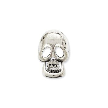 Sterling Silver Movable Skull Pendant