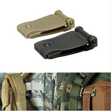 Backpack Molle Strap Bag Webbing Clamp Connecting Buckle Clip 30mm 3C