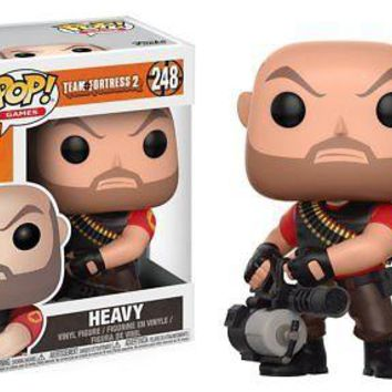 Funko Pop Games: Team Fortress 2-Heavy Collectible Vinyl Figure
