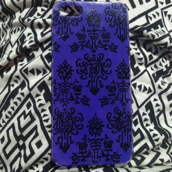 Haunted Mansion Wallpaper inspired phone case
