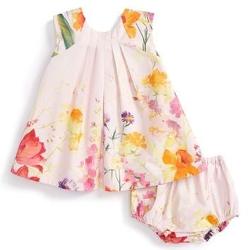 Isabel Garreton Floral Print Sleeveless Dress (Baby Girls) | Nordstrom