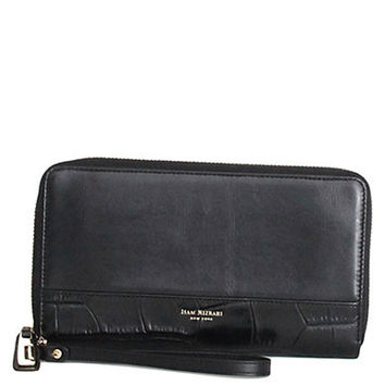 Isaac Mizrahi New York Nora Leather Large Zip-Around Wallet