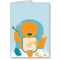 Messy Baby Cards from Zazzle.com