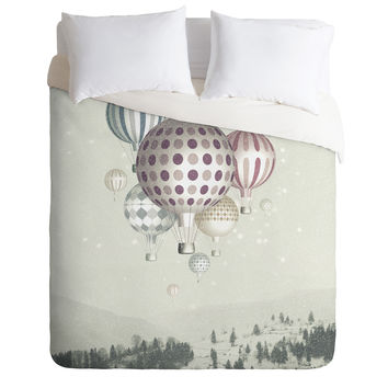 Belle13 Winter Dreamflight Duvet Cover