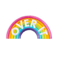 Over It Rainbow Patch