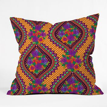 Aimee St Hill Ivy Orange Throw Pillow