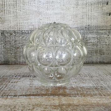 Glass Lampshade Ceiling Lamp Shade Glass Lampshade Ceiling Light Globe Mid Century Lampshade Glass Pendant Light Globe Antique Light Fixture