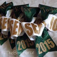 Senior Cheer Bow with your name