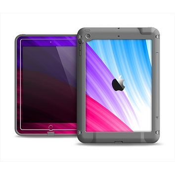 The Radiant Color-Swirls Apple iPad Air LifeProof Fre Case Skin Set