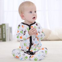 Newest Baby Rompers Newborn Cute Little Footprint Children Jumpsuit Overalls Spring Body Roupa de Boys Girls Clothes
