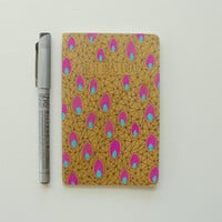 moleskine notebook - best ideas ever, hand painted, journal, pocket notebook