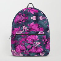 mandala 9 purple #mandala Backpacks by Lionmixart