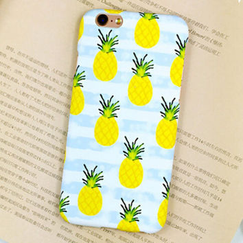 Egg Pineapple mobile phone case for iphone  6 6s 6plus 6s plus + Nice gift   box!