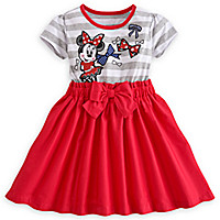 Minnie Mouse Red Dress for Girls