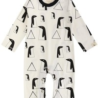 Penguin Family Playsuit by Lilly+Sid