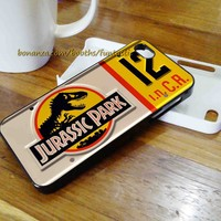 Jurassic Park Jeep License Plate Phone Case, iPhone Case, Samsung Galaxy Case