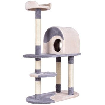 """48"""" Cat Furniture Activity Tower Tree with Scratching Posts To Match Your Decor"""