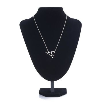 Constellation Star Leo Sign Necklace