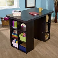 Simple Living Counter Height Craft Table