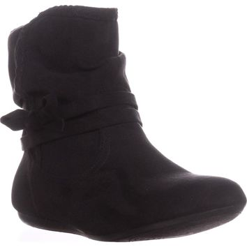 Report Bunnie Slouch Ankle Boots, Black, 5 US