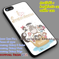 I Love Studio Ghibli iPhone 6s 6 6s+ 5c 5s Cases Samsung Galaxy s5 s6 Edge+ NOTE 5 4 3 #cartoon #animated #MyNeighborTotoro dl7