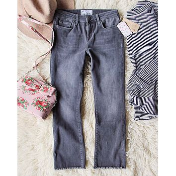 Spool + Free People Rough Hem Jeans
