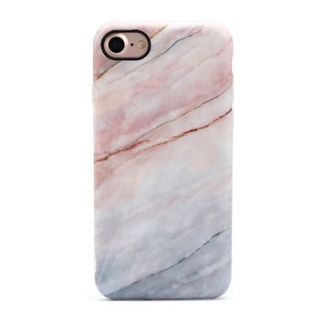 Anti-Scratch Marble Stone Case for iPhone X 8 7 6S Plus &Gift Box