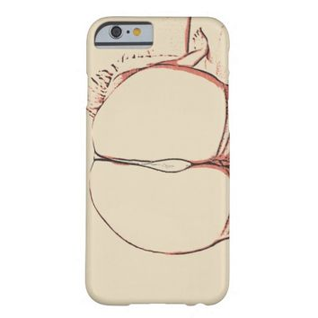 Round and sexy, the booty view, erotic nude art barely there iPhone 6 case
