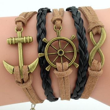 Awesome Stylish Accessory Vintage Marine Bangle Bracelet [6573073671]