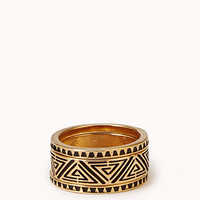 Etched Ring Set