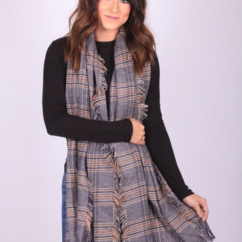 Plaid Perfection Scarf