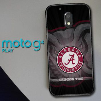Alabama Crimson Tide G0099 Motorola Moto G4 Play Case