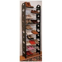 Deluxe Stacking Shoe Rack Ladder