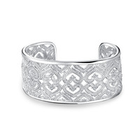 Bling Jewelry Speckled Love Cuff
