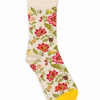 BONNE MAISON FLOWER SOCKS - WOMEN - BONNE MAISON - OPENING CEREMONY