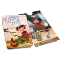 Alice in Grinderland - Mad Hatter Herb Grinder card