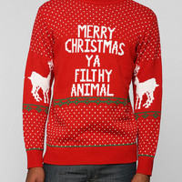 Filthy Animal Holiday Sweater - Urban Outfitters