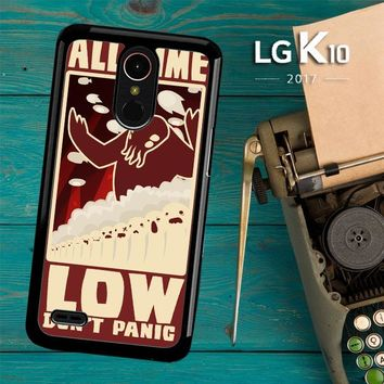 All Time Low Logo Y0296 LG K10 2017 / LG K20 Plus / LG Harmony Case
