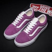 ONETOW Flats Shoes Sneakers Sport Shoes VANS Classic Canvas Old Skool