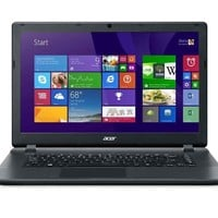 Acer Aspire E15 (ES1-511-C59V) 15-inch Laptop 2.16 GHz Intel Celeron N2830 Dual Core, 4 GB, DDR3L SDRAM, 500 GB HDD, Windows 8.1, Diamond Black