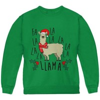 DCCKJY1 Christmas Fa La Llama Youth Sweatshirt
