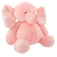 Carters Little Layette Baby Sweet Plush Elephant, Pink