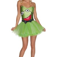 Adult The Muppets Tutu Kermit the Frog Costume- Party City