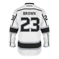 Dustin Brown Los Angeles Kings Reebok Premier Replica Road NHL Hockey Jersey