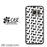 Black And White Cat Pattern DEAL-1841 Samsung Phonecase Cover For Samsung Galaxy S7 / S7 Edge